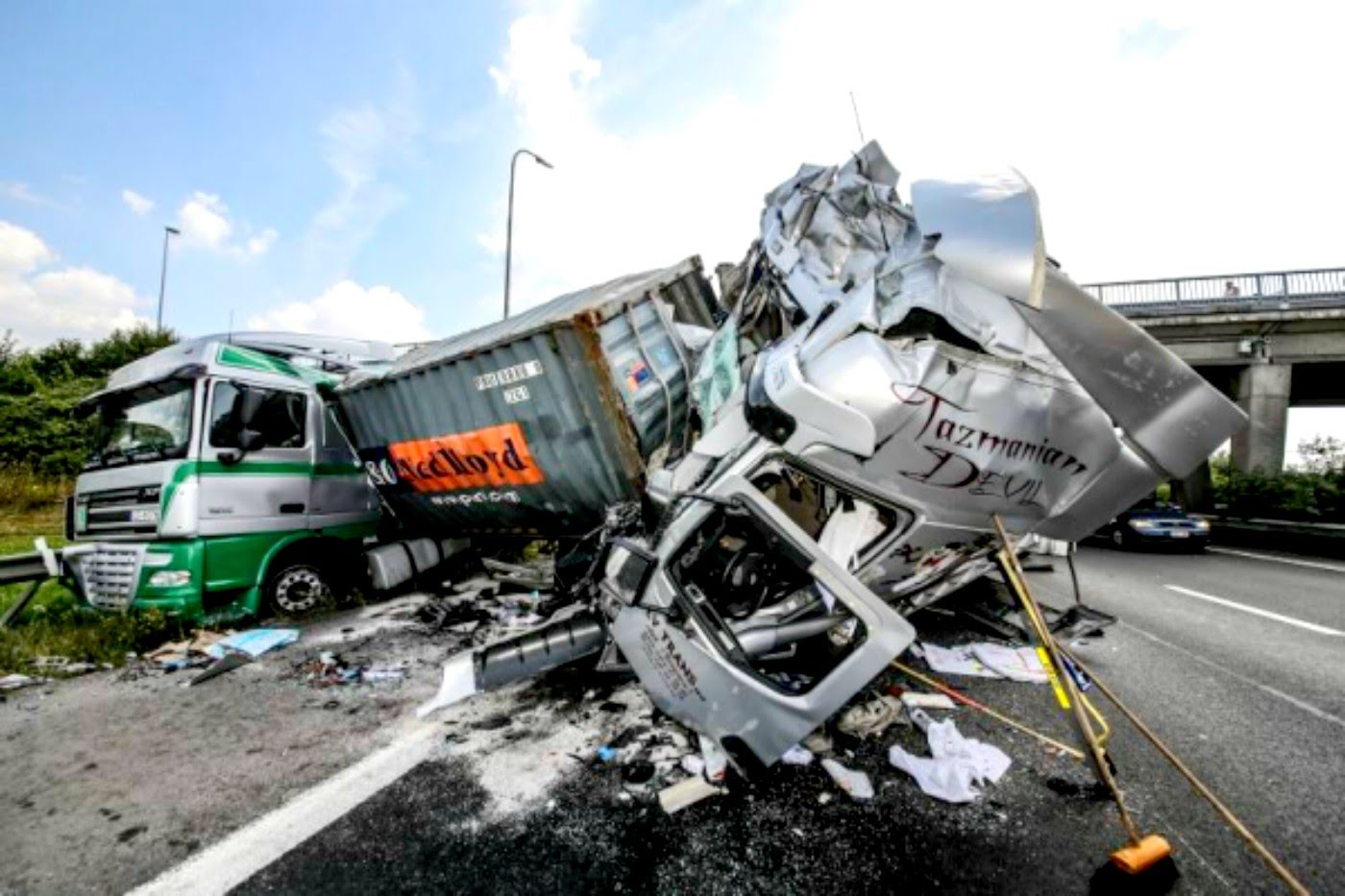 Avoiding Truck Accidents Reyna Law Firm