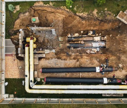 repair and replacement of the pipeline in minsk re NLFKNFV 1  